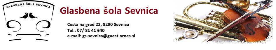 Glasbena šola Sevnica